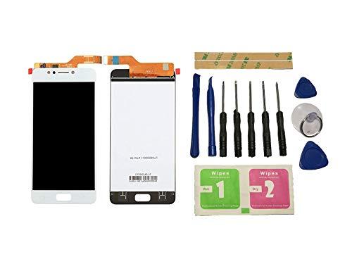 """Flügel für Asus ZenFone 4 Max ZC520KL X00HD 5.2\"""" Display LCD Ersatzdisplay Weiß Touchscreen Digitizer Bildschirm Glas Assembly (ohne Rahmen) Ersatzteile & Werkzeuge & Kleber"""