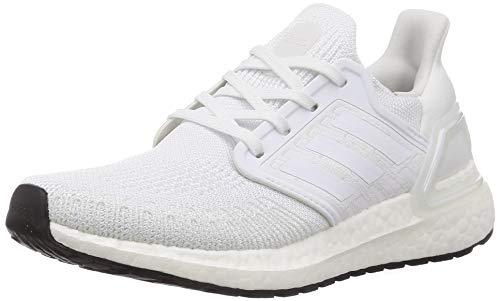 adidas Ultraboost 20 W, Women's Women's running shoes, Multicolor (FTWR WHITE / GRAY THREE F17 / CORE BLACK), 3.5 UK (36 EU)