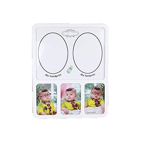Baby Footprint empreinte de main Kit d'encre bébé-pied photo cadre unique cadeaux bébé personnalisé pour bébé douche cadeaux 1pc