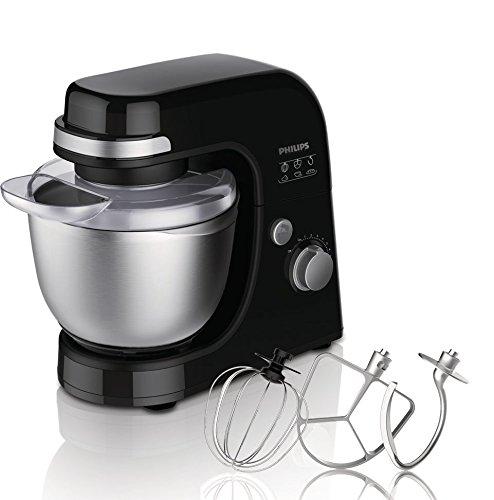 Philips Viva Collection HR7920/90 - Robot de cocina (4 L, Negro, Acero inoxidable, ABS sintéticos, 300 W, 220-240 V): Amazon.es: Hogar