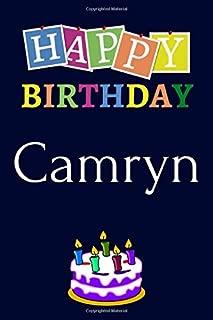 Best happy birthday camryn Reviews