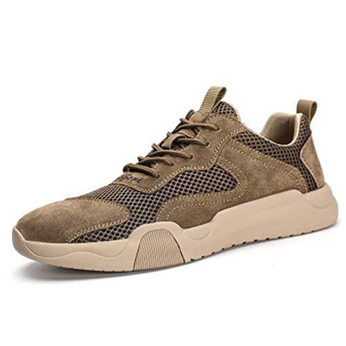 Zhang Zapatos de hombre para otoño/primavera y verano, casual/británico, para uso diario, para caminar, antideslizantes, a prueba de desgaste, B, 43