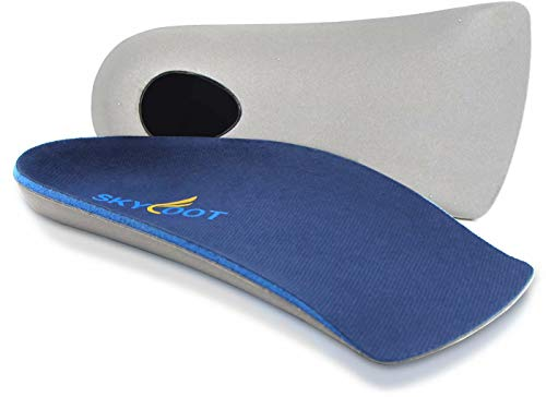 Skyfoot's 3/4 Orthotics Shoe Insoles - Arch Support Correct Over-Pronation, Fallen Arches, Flat Feet Metatarsal Support Insoles (XL - M11.5-13.5) …
