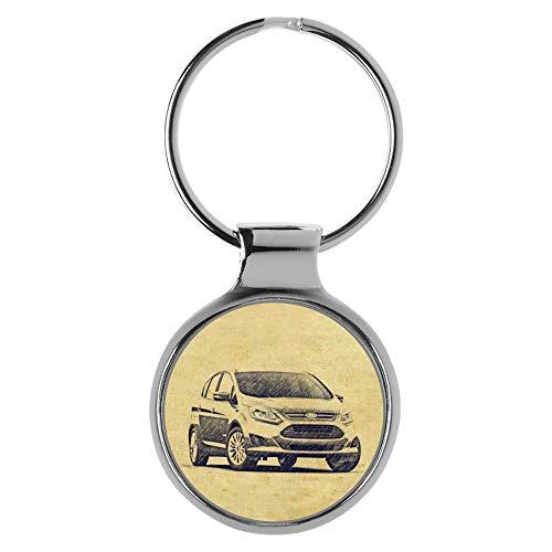 KIESENBERG Schlüsselanhänger Geschenke für Ford C-Max II Modellpflege Fan A-4751