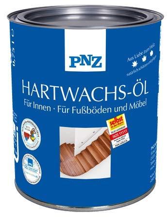 PNZ Hartwachs-Öl (farblos), Gebinde:0.75L, Farbe:seidenmatt
