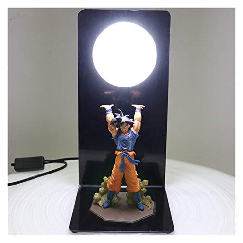 WDFDZSW Dragón B A L L L L ACCIÓN CARACTER DE ACCIÓN Goku Son Colección Estatua DIY Anime Modelo DBZ Ball LED Light Light NIÑOS Juego DE BABÉ (Color : Clear)