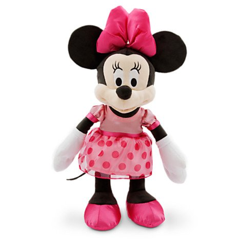 Minnie Mouse en Peluche pour bébé - Medium - 17 ''