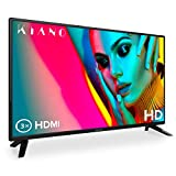 Kiano Slim TV 32' Pouces [80 cm, Triple Tuner, DVB-T2, CI, CI+] Lecteur Multimdia Via Port USB Tlviseur 32 Pouces (PVR, Dolby Audio, Triple HDMI, 8.5 ms, LED, Direct LED, HD) Classe nergtique A