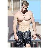 PDFKE Q1688 Poster Chris Hemsworth Schauspieler Star Pop
