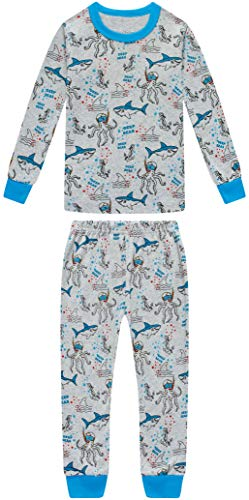 shelry Boys Fire Trucks Pajamas Children Cars Clothes Christmas Kids 4 Pieces Pants Set Baby Girls Clothes PJs