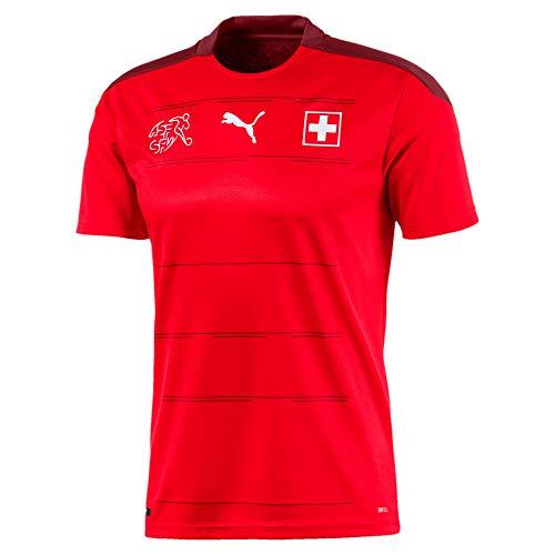 PUMA Schweiz Trikot Home Kinder Euro 2020 - SEFEROVIC 9, Größe:140