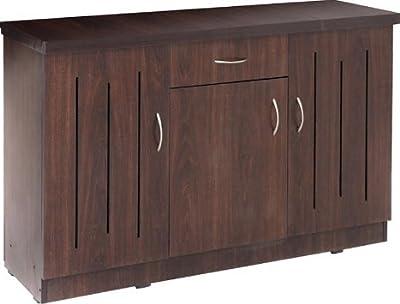 Shilpi Handmade Standard Size Premium Solid Wood Teak Board Shoe Cabinet