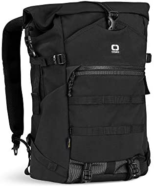 OGIO ALPHA Convoy 525r Rolltop Backpack Black product image