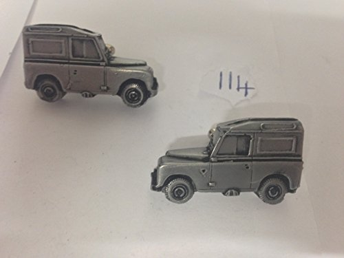 Land Rover 3 86 3D WB série-Boutons de manchette Homme-Classique-Bouton De Manchette en étain effet ref114