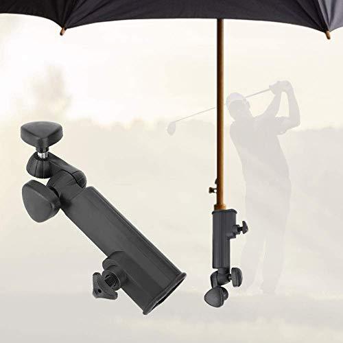 Schirmhalter Golf Trolley - Golf Push Trolley Schirmhalter Kunststoffständer Pull Bike Cart Einstellbarer Winkel für Golf Cart oder Angeln
