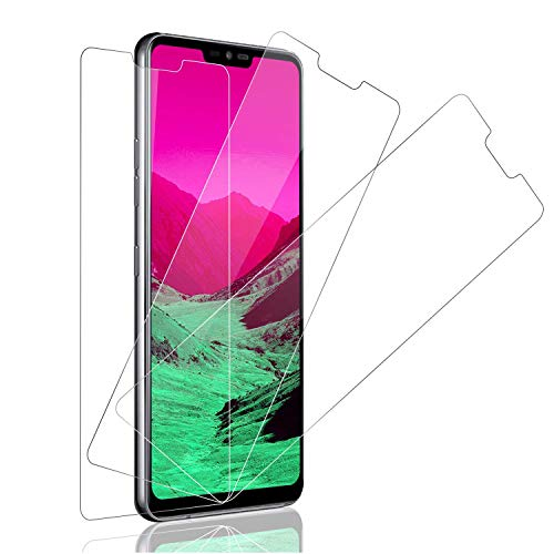 SNUNGPHIR Pellicola Protettiva per LG G7 ThinQ Vetro Temperato, 3PEZZI [Durezza 9H] [Facile da Pulire] [Facile da installare] Protezione Schermo Screen Protector LG G7 ThinQ Pellicola