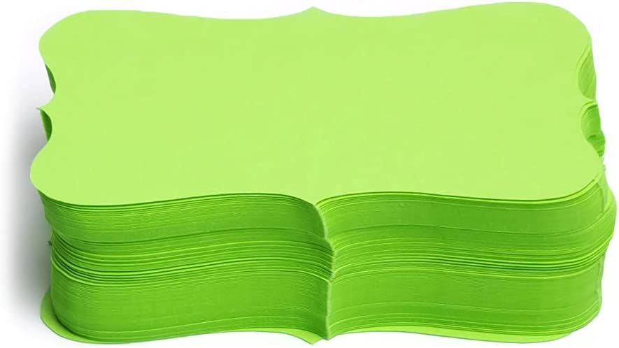 PPAPPAPPIYO Neon color index cards 3.54inx1.96in Paper shipfree B 100 Fort Worth Mall -