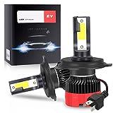 Zmoon H4/9003/HB2 LED Headlight Bulbs, 100W 10000 Lumens LED Headlights Conversion Kit 6000K Cool White IP67 Waterproof, 2 Pack