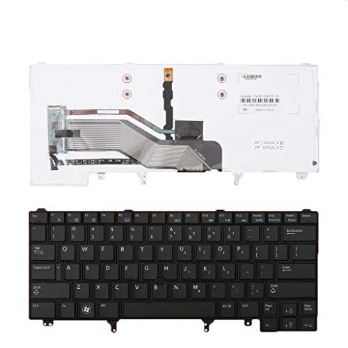 B Blesiya Teclado de Repuesto para Computadora Portátil, Tecla Enter Pequeña para DELL E6320 E6430