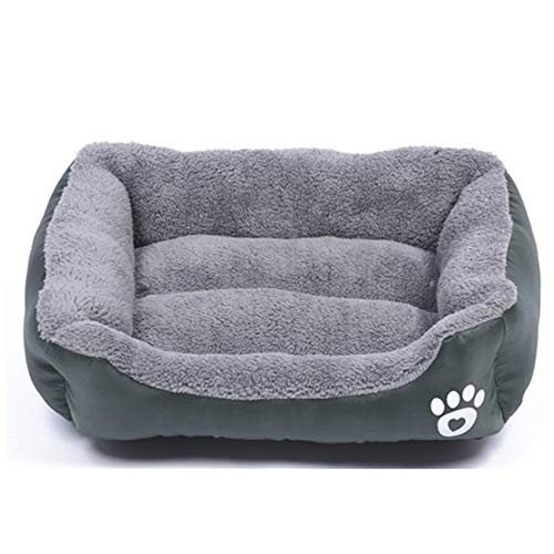 N / E Cama de felpa para mascotas con nido de gato, cama para perro, sofá cálido y suave, cojín para cama de dormir para gatos y perros pequeños y medianos y grandes