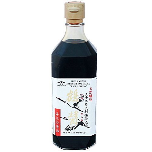 Yamaroku Japanische Sojasauce Tsurubishio Crane Deep Richness and Mellowness 500ml