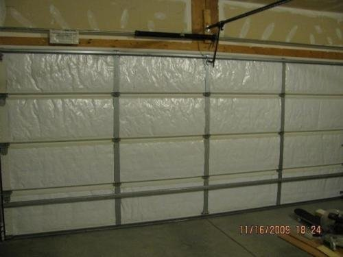 Ant Enterprises NASA TECH Reflective White Foam Core Garage Door Insulation Kit 8L x 7H