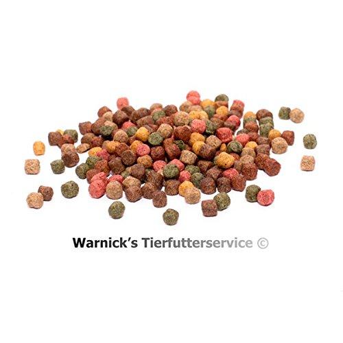 Warnicks Tierfutterservice Koifutter 8-Sorten-Mix, 10Kg in 3-6mm