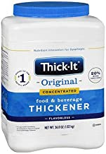 Thick-It 2 Instant Food and Beverage Thickener, Unflavored Concentrated Powder - 36 oz, Pack of 2