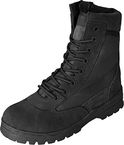 normani Outdoor Stiefel Patriot mit seitlichem Reißverschluss Farbe Schwarz Größe 41