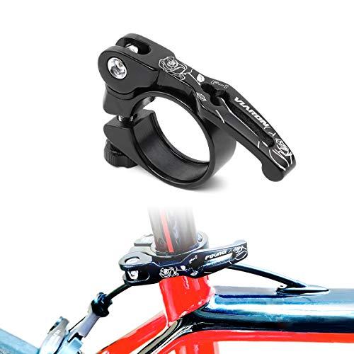 Lohas Select - Abrazadera para sillín de bicicleta de aleación de aluminio...