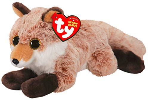 TY 50052 Fredrick Fox Beanie Babies Fuchs Plüschtier, Mehrfarbig