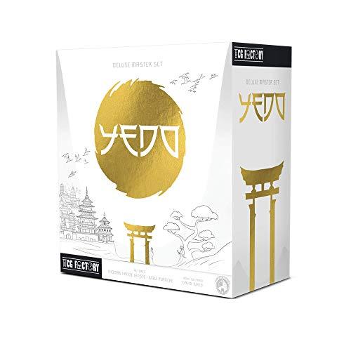 TCG FACTORY TCGYEDO YEDO DELUXE MASTER SET Juego de mesa ambientado en el antiguo Japón feudal. Juego de estrategia de dificultad media, perfecto para jugones y aficionados a los eurogames