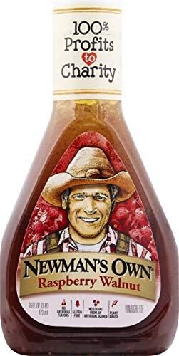 Newman's Own Salad Dressing, Light Raspberry & Walnut, 16 oz