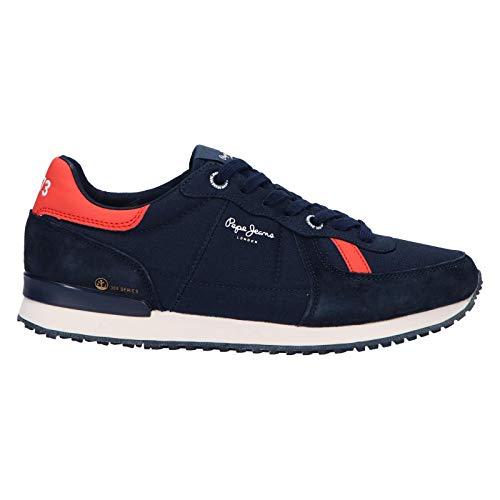 Pepe Jeans Zapatillas Deporte Pms30614 Tinker Jogger 595 Navy 41 para Hombre