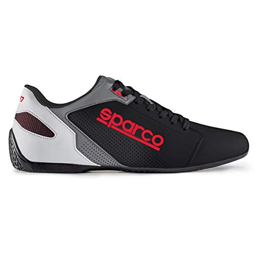 2019 SPARCO SL-17 SHOES - Black/Red - EU 43 / UK 9 / US 10