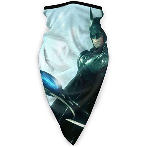 haoking Batman - Pañuelo triangular, unisex, sin costuras, para correr, montar a caballo, para mujeres y hombres