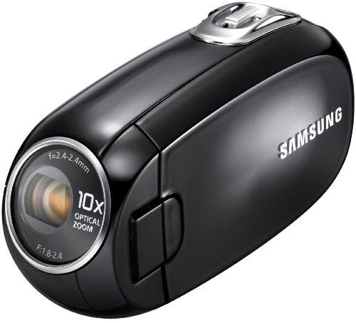 Samsung SMX-C20 - Videocámara (CCD, 0,8 MP, 1/0,236 mm (1/6'), 10x, 1200x, 2,4-24...
