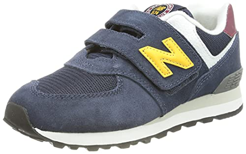 New Balance PV574V1 Sneaker, Natural Indigo (HW1), 33 EU