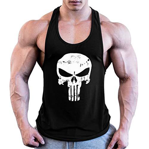 Cabeen Gym Camisetas Tirantes Culturismo Fitness Gimnasio Chaleco Músculo Fit para Hombre