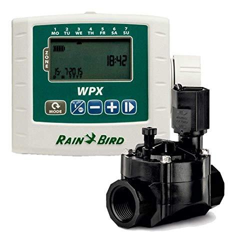 Rain Bird Programador a batería WPX1 Kit + Electroválvula 9v 1