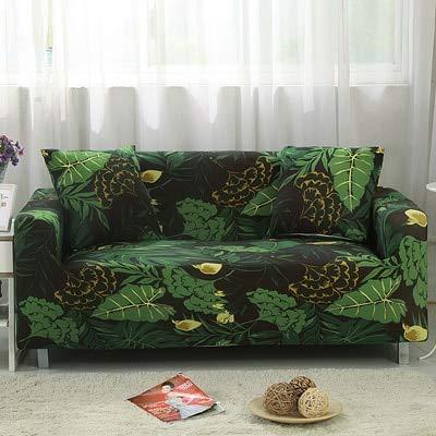 Conjuntos de sofás de Tela elástica Funda de sofá Universal con Todo Incluido Toalla de Cubierta Cojín de sofá de Cuero de Verano Europeo A10 2 plazas