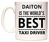 DAITON Is The World's BEST Taxi Driver Taza por WeDoMugs®