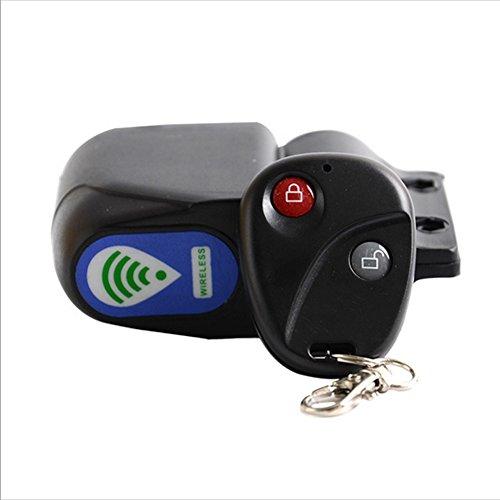 Cutogain Bicycle Wireless Remote Control Anti-theft Alarm Cycling Lock Shock Vibration Sensor Mountain Bike Security Alertor