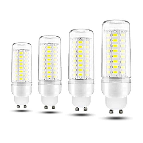 ACXLONG GU10 Bombilla de luz LED Blanco frío 6000 K 12 W Lámpara de ahorro de energía 220-240 V 100 W Equivalente incandescente para nevera/campana extractora/luz nocturna/candelabros/luz de