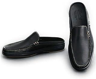 [パラブーツ] スリッポン ローファー メンズ靴 ブラック 黒 オイルドレザー ANCYLモデル ancyl-860912 国内正規取扱