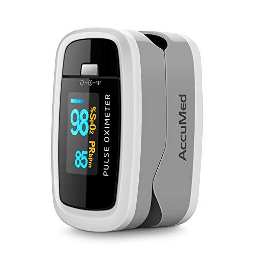 4138O2XPYmL. SL500  - AccuMed CMS-50D1 Fingertip Pulse Oximeter