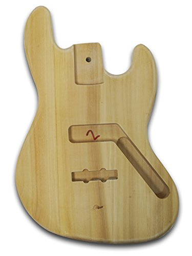 Electric JB Bass Guitar Unfinished Body