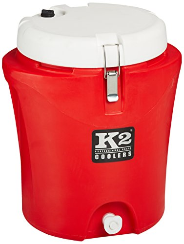 K2 Coolers Water Jug, Red/White, 5 Gallon