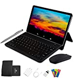 4G Tablet 10 Pollici con Wifi Offerte Android 10.0 Tablet PC 4GB RAM 64GB/128GB Espandibili 8000mAh Tablet in Offerta Dual SIM 8MP Fotocamera Tablet Android Bluetooth OTG(Nero)
