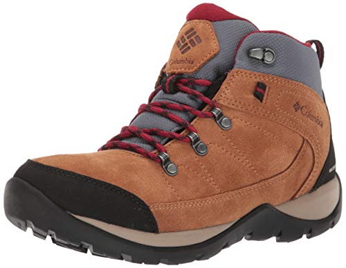 Columbia Fire Venture S II Mid WP, Botas de Senderismo Impermeables para Mujer